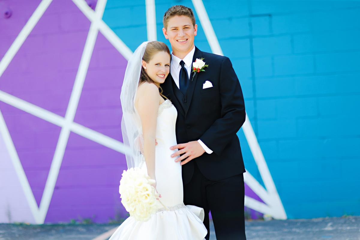 The Wedding Story of Brittney & Conor Casey | WeddingDay Magazine
