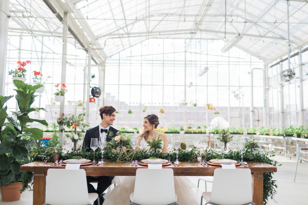 Go Green or Go Home: An Eco-Inspired Cover Shoot | WeddingDay Magazine