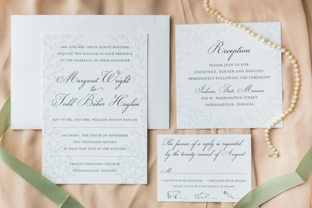 Wedding Invitations Indianapolis: Custom Or Ready-Made Invitations: Which Option Is The Best