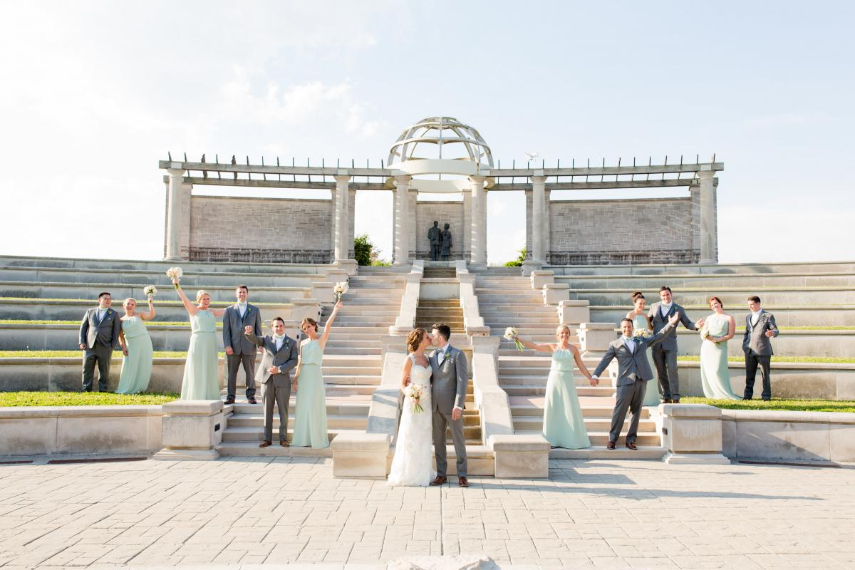 The Wedding Story Of Paige And Jay Trauring Weddingday Magazine