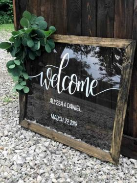 Buy this welcome sign now!