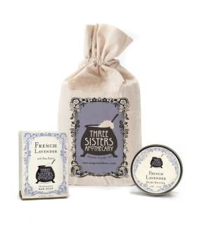 Buy French Lavender Muslin Gift Set Now!