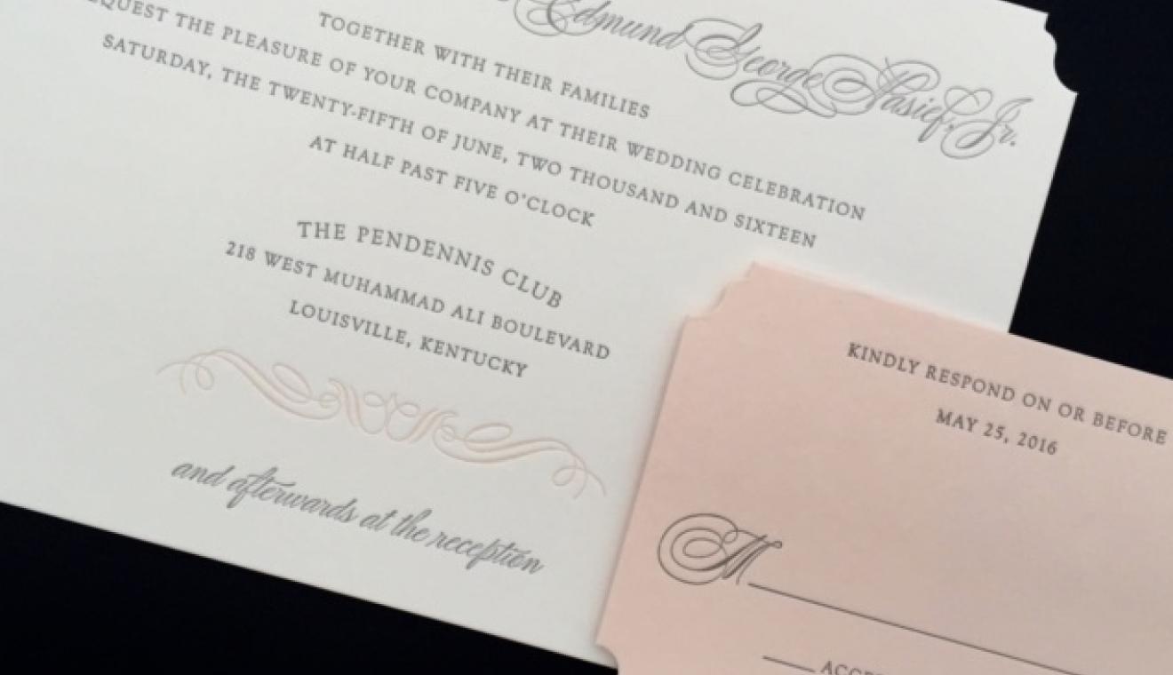 Julie Diamond Calligraphy and Invitations | WeddingDay Magazine