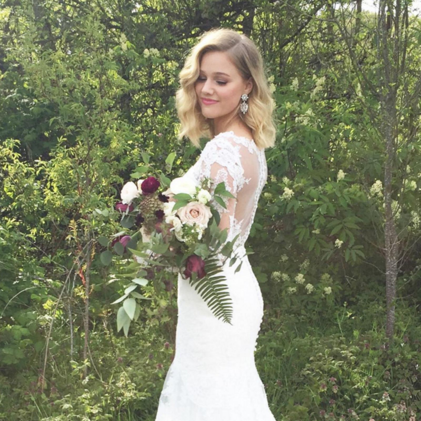 Wedding Hairstyle Lob: Our Favorite Instagram Posts 4.15.16