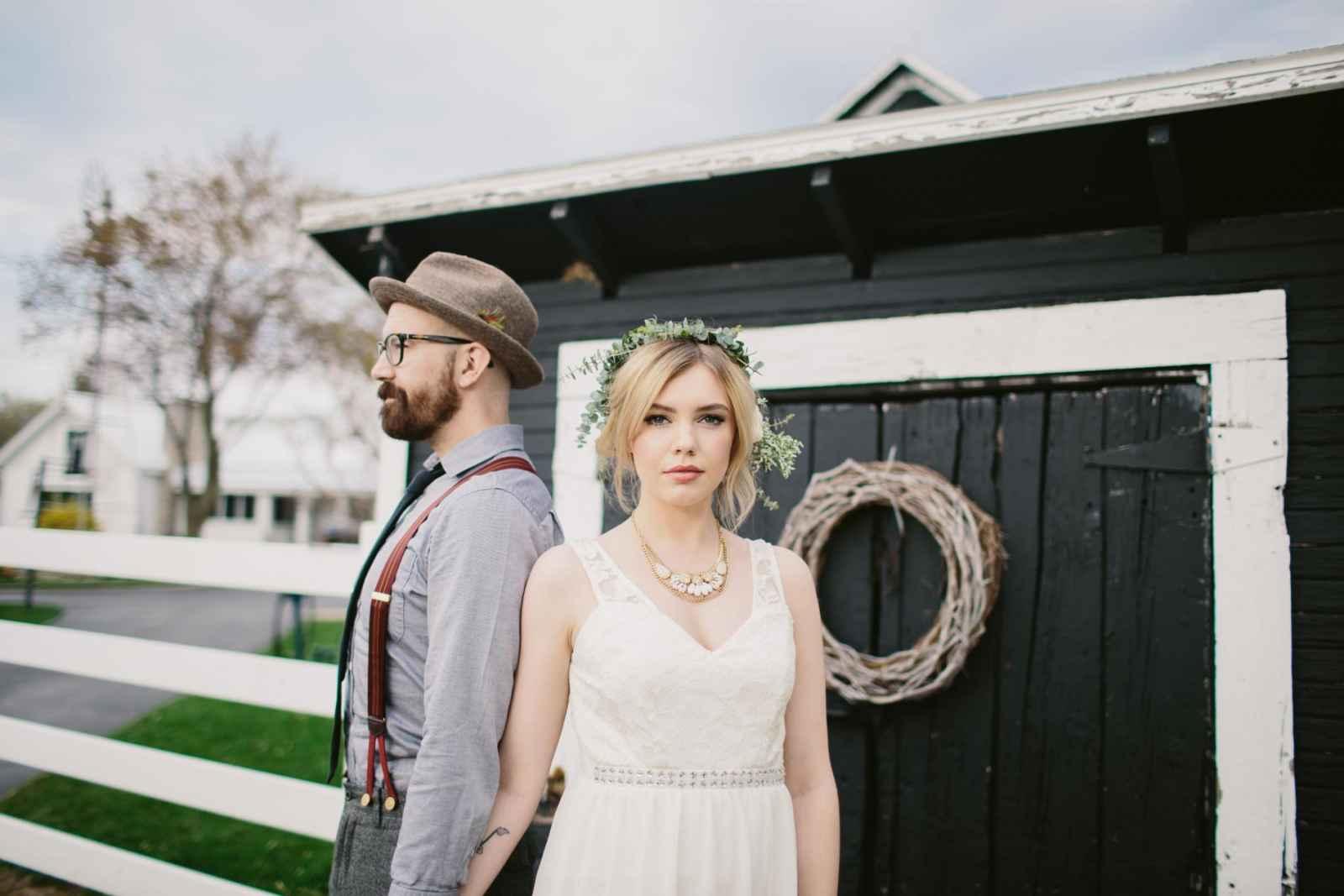 a style shoot at hydrangea blu barn weddingday magazine