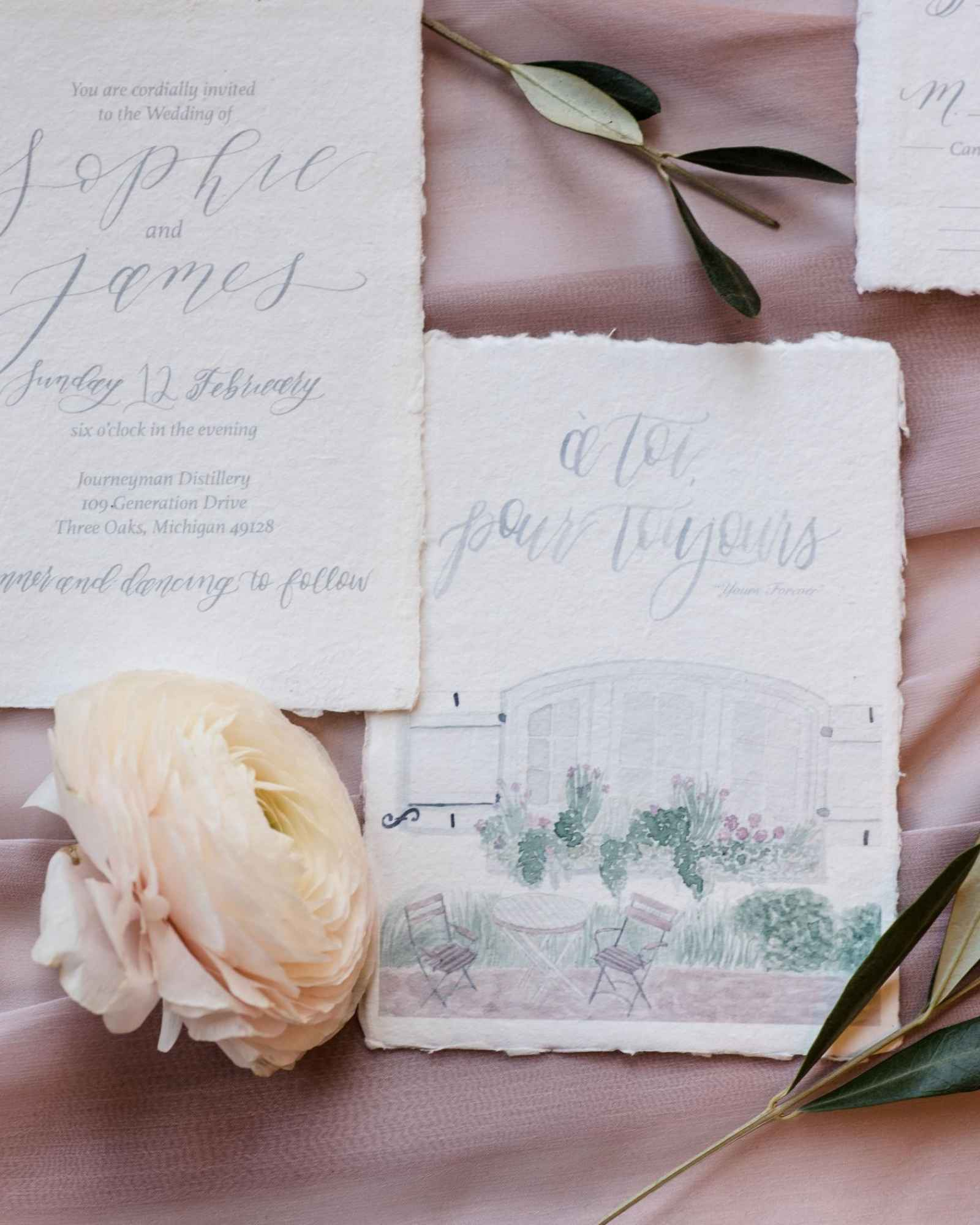 Ethereal French Meets New World Style Shoot | WeddingDay Magazine