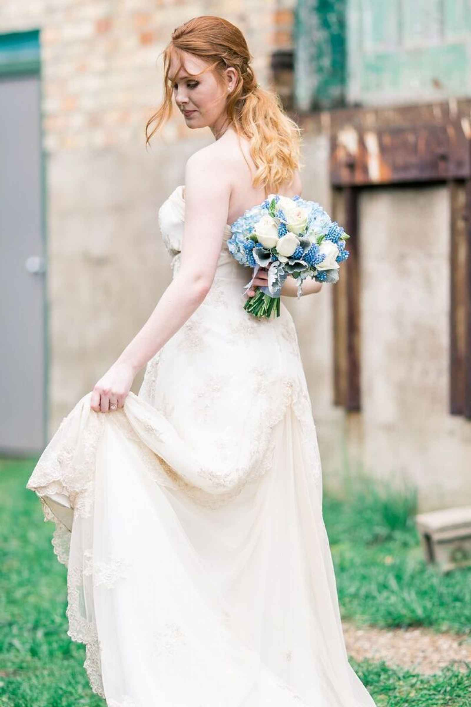 Blue Garden Style Shoot | WeddingDay Magazine