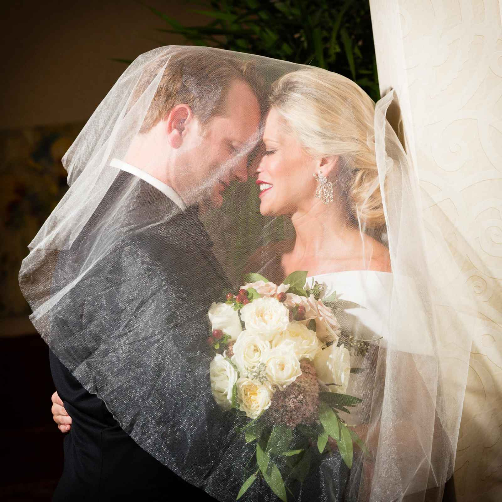 Gabriel marie gold wedding dress