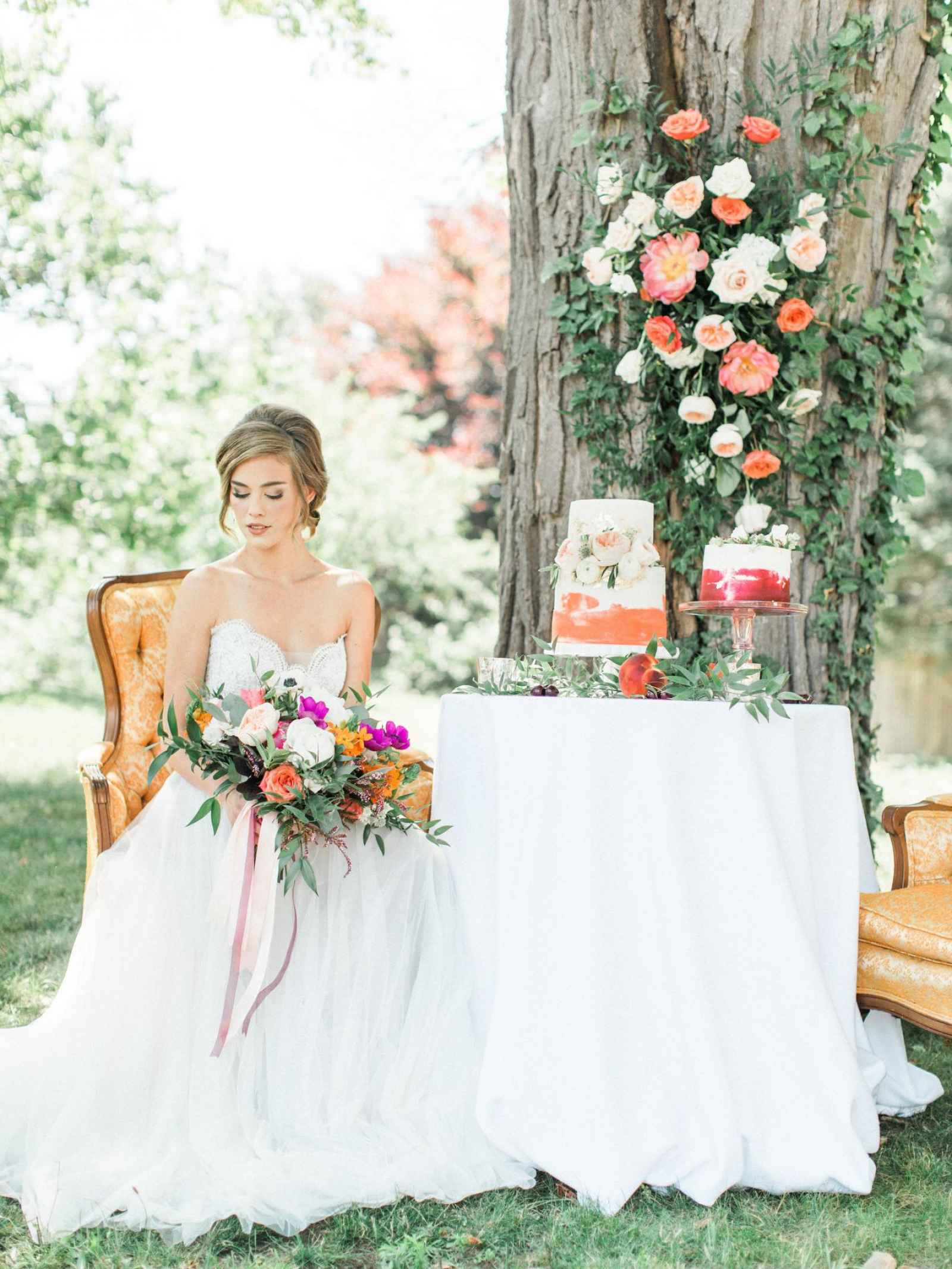 Summer Splendor: A Whimsical Garden Wedding at Henderson Castle ...