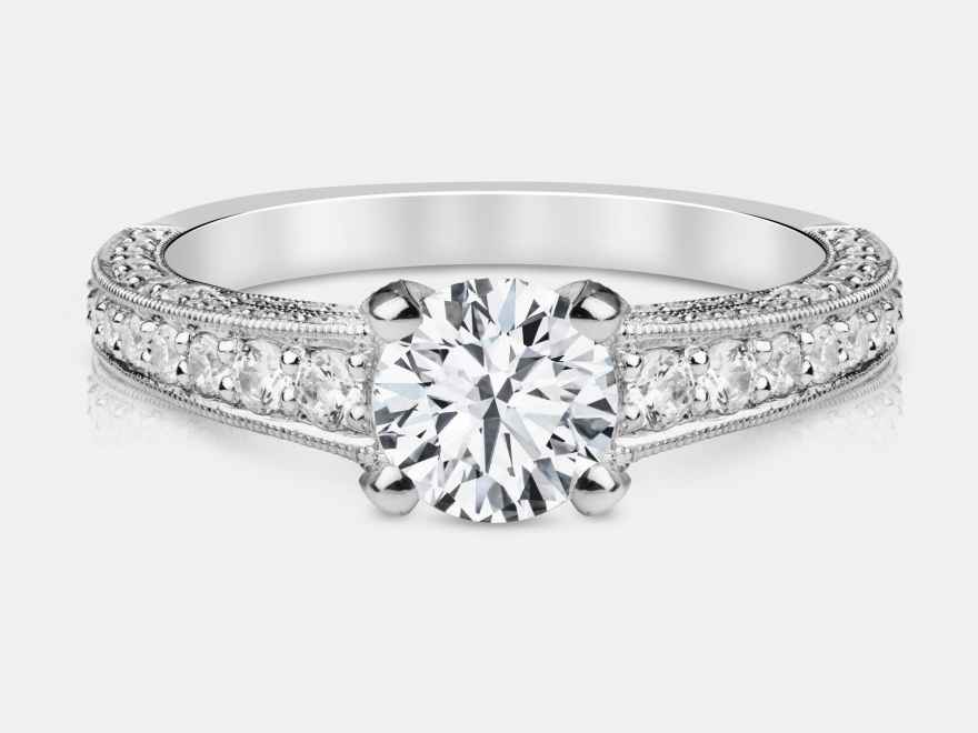 Picking Out Engagement Ring With Boyfriend