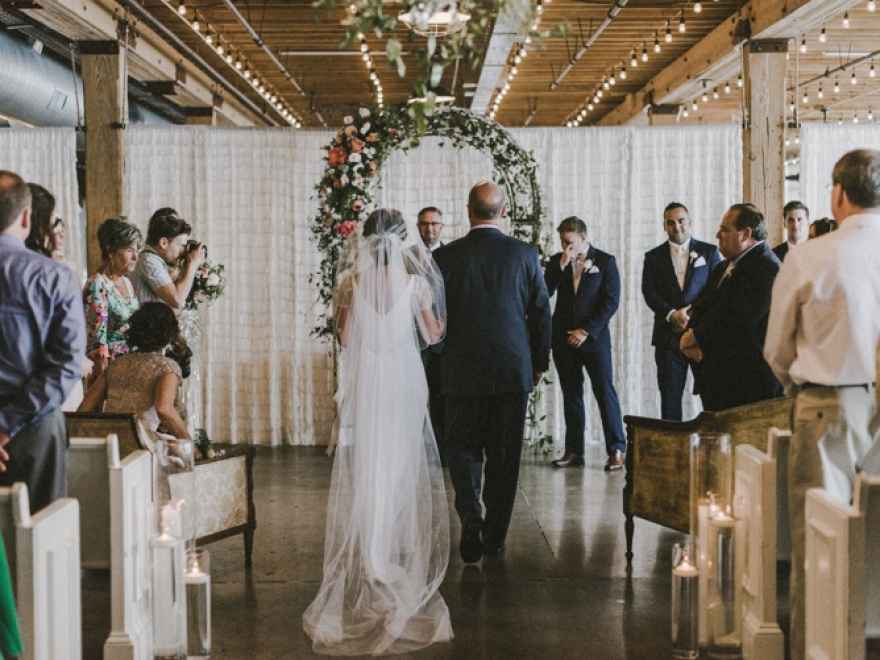 The Wedding Story of Brett and Thomas Guarino WeddingDay Magazine