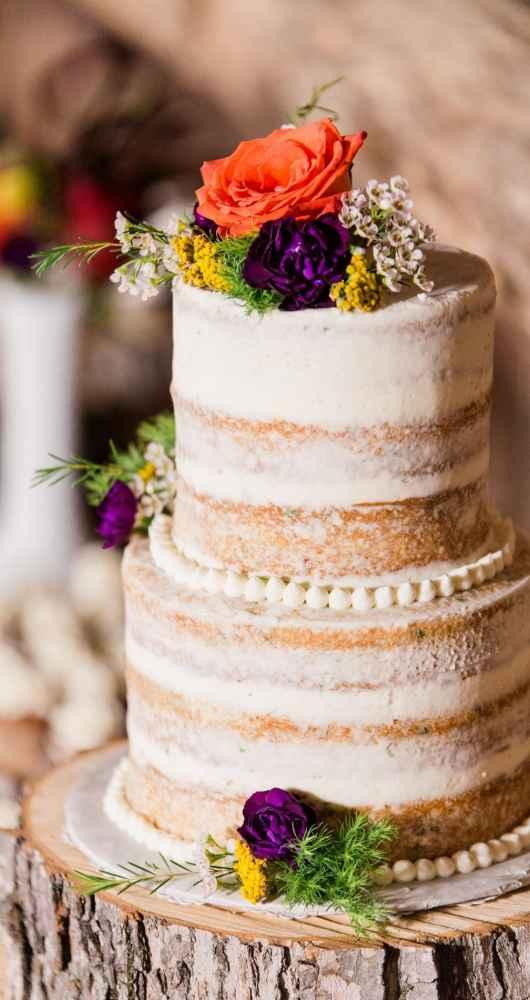 The Wedding Story Of Erica And Mitchell Fox WeddingDay Magazine - Godfather Wedding Cake