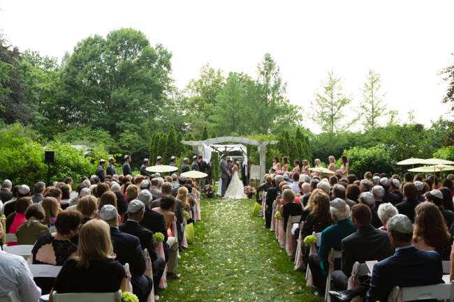 Ceremony at the Indianapolis Museum of Art
