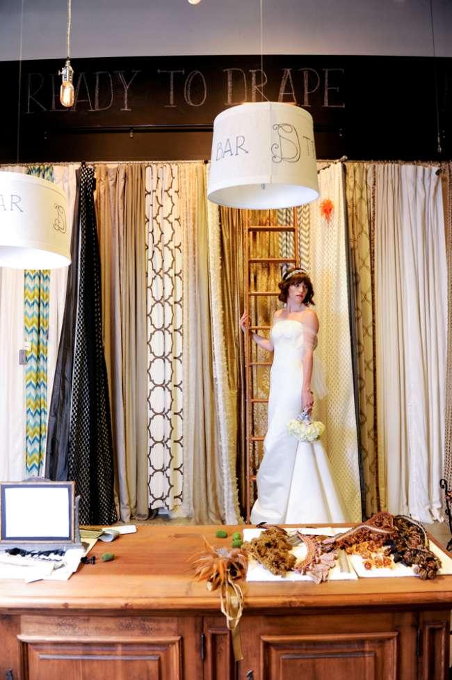 Bride in Indiana Design Center