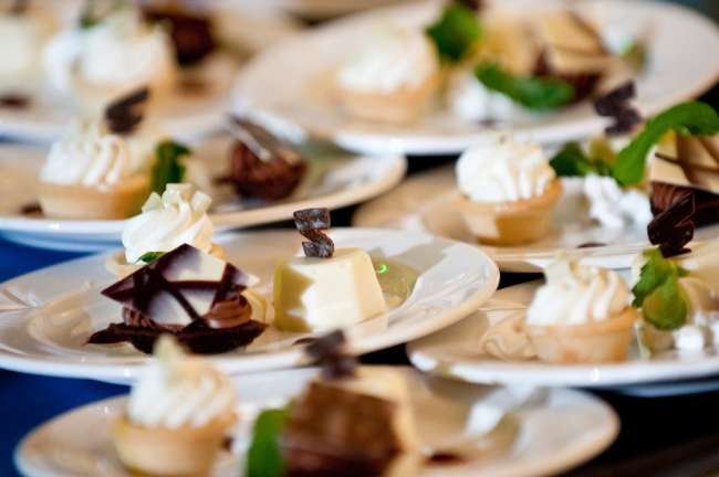Small dessert plates