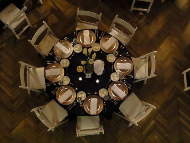 Brid's Eye View of a Tablescape