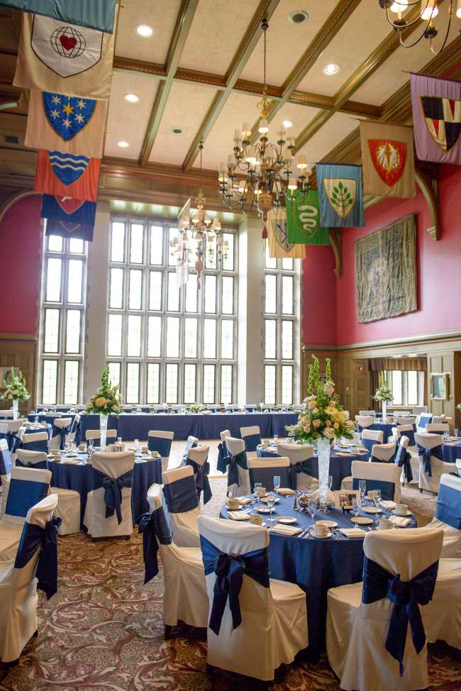 Reception at the Tudor Room at the Indiana Memorial Union