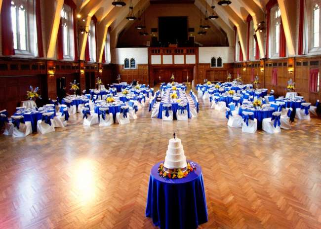 Blue and Yellow Reception at IU