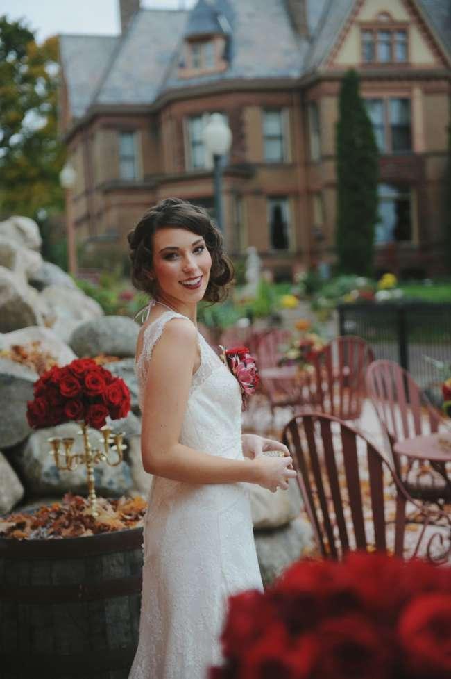 Bride at Henderson Castle