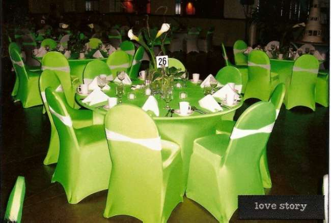 Lime Green Reception