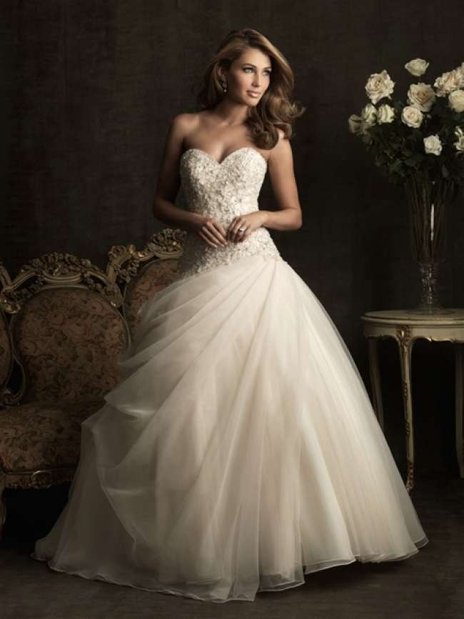 Allure Strapless Ball Gown