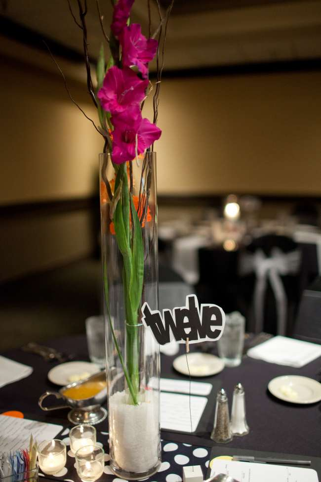 Tall Whimsical Centerpieces