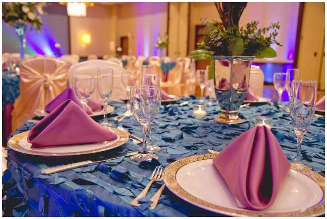 Beautiful, Pink & Blue Tablescape