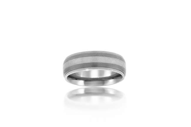 Striped Wedding Band