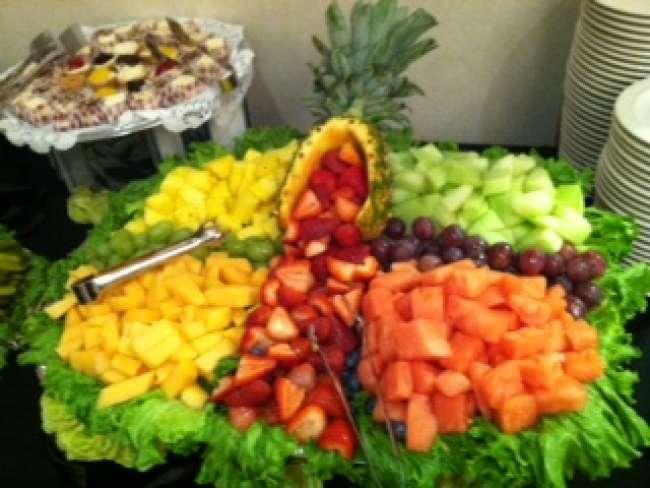 Extravagant fruit display