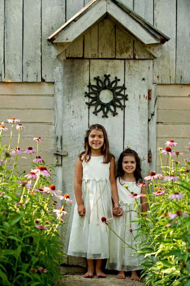 Barefoot Flower Girls