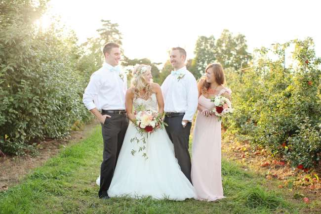 Wedding Party at Robinette's Apple Haus & Winery