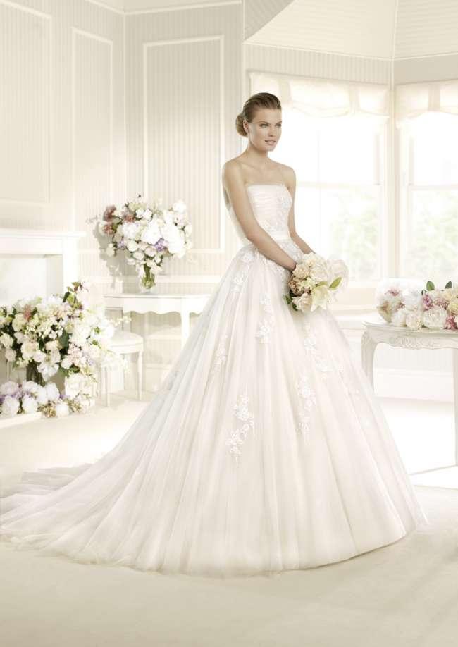 La Sposa beaded ballgown