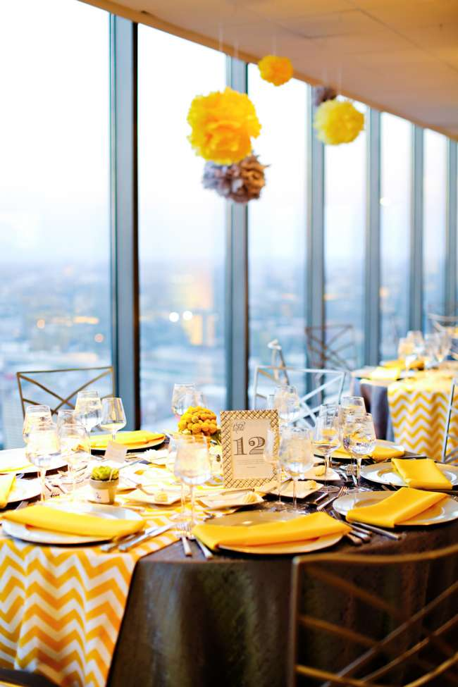 Bright & Fun, Yellow Tablescape