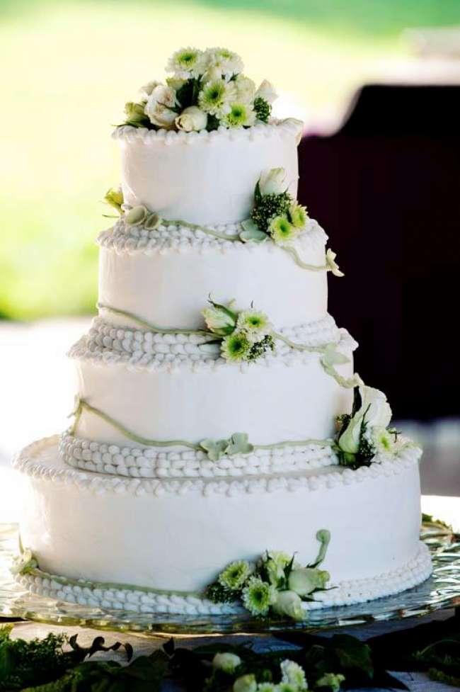 A Minty Green Cake