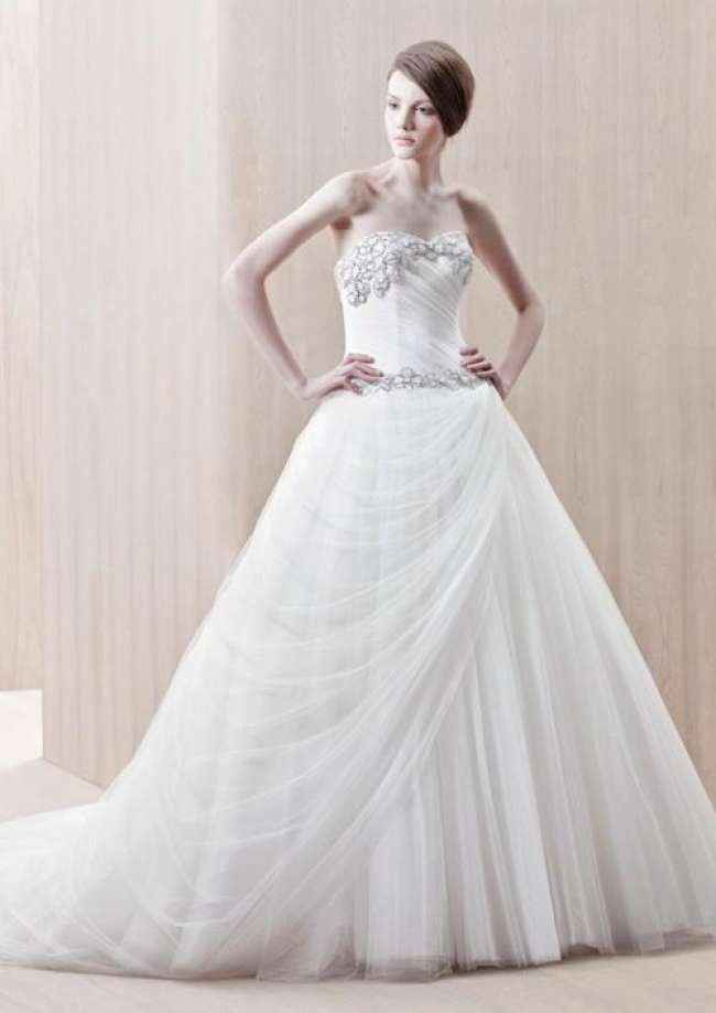 A Stunning Gown that Drapes