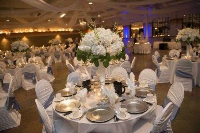White & Gray Reception