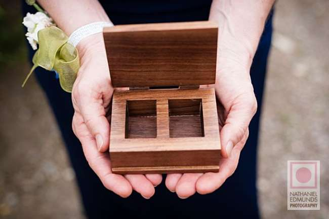 Handcrafted Ring Box