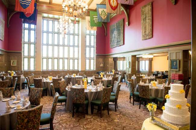 The Tudor Room at the Indiana Memorial Union