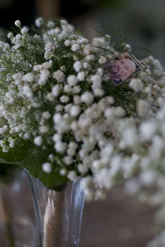 Sentimental Picture Charm on Bouquet