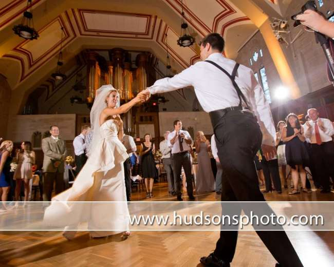First Dance in Alumni Hall at Indiana Memorial Union