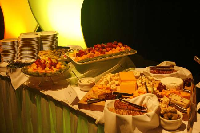 Cheese and Cracker Buffet at Event
