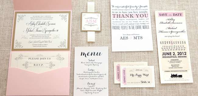 Vintage Stationery Package