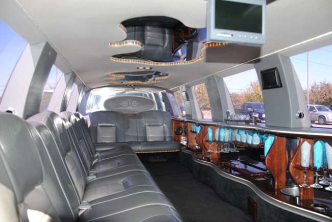 Interior of Excursion Stretch Limo