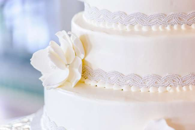 Classic All White Cake