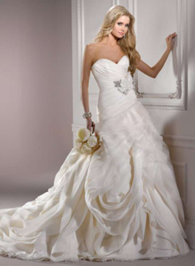 Dynasty wedding gown by Maggie Sottero