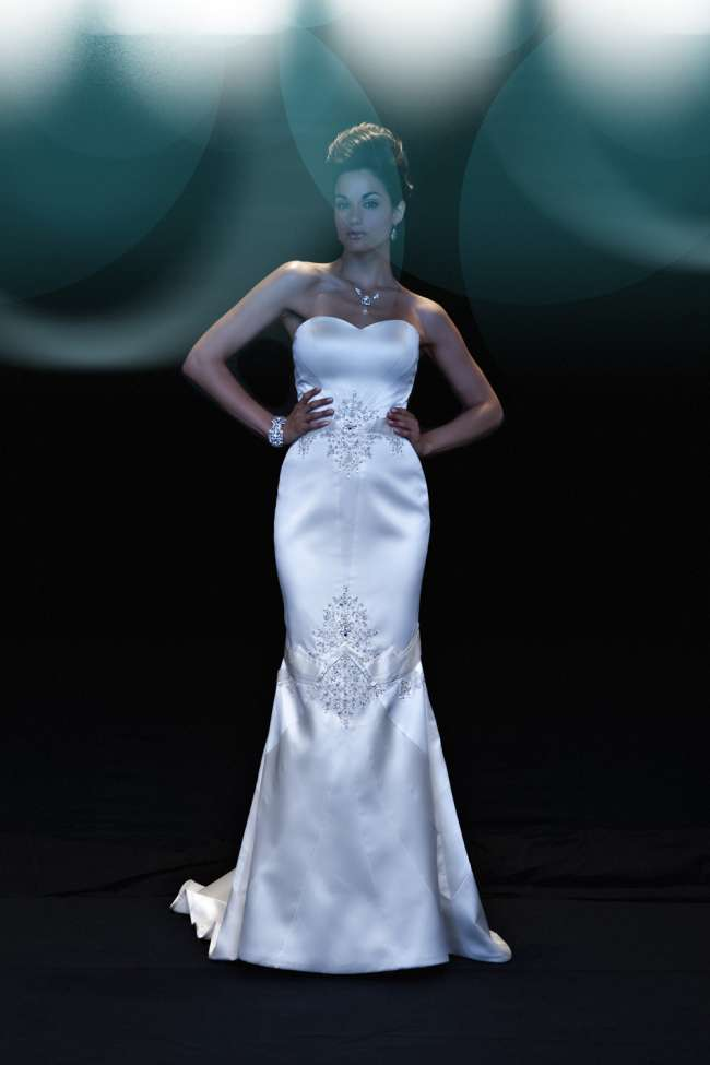 Matthew Christoper Silk Gown