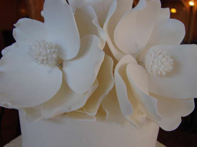Artful Cake Flower