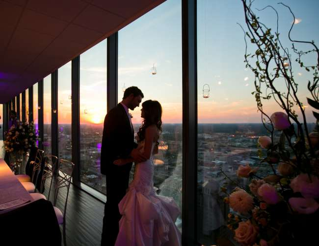A Private Moment Above the City