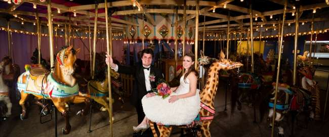 Carousel photo background