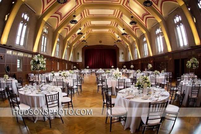Elegant Reception at Alumni Hall